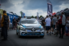 Florian BERNARDI (FRA) - Victor BELLOTTO (FRA), RENAULT CLIO R3T during the 2019 Barum Czech Rally Zlin (CZE) from August 15 to 18 - Photo Erik Agostinelli / Sixième Degré