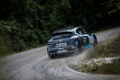 Florian BERNARDI (FRA) - Victor BELLOTTO (FRA), RENAULT CLIO R3T during the 2019 Rally di Roma Capitale (IT) from July 16 to 21 - Photo Erik Agostinelli / Sixième Degré